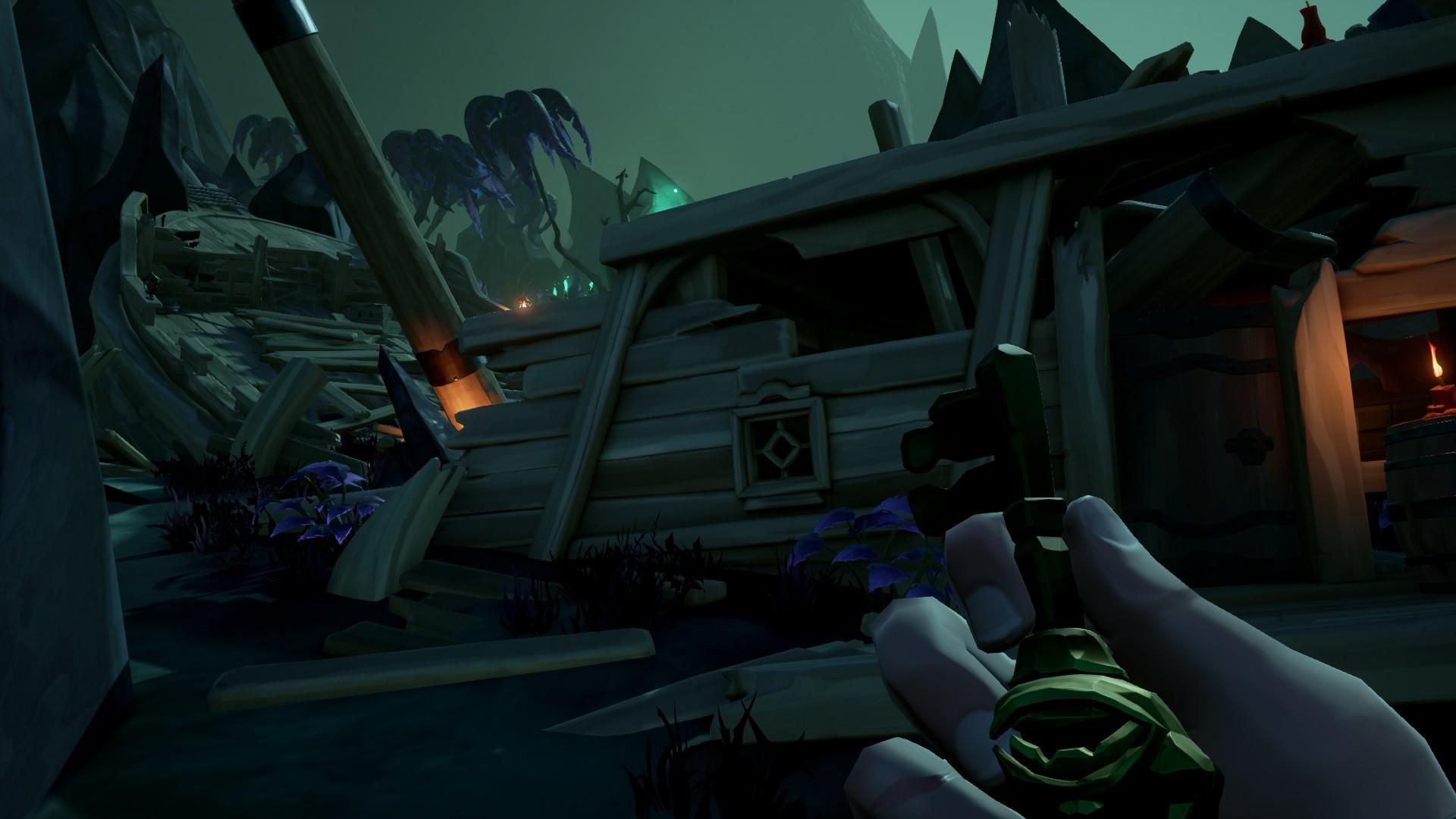 Проходим пиратскую жизнь и получаем дневники в Sea of Thieves.