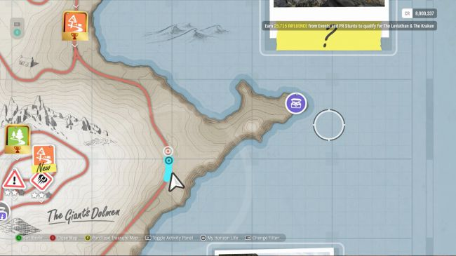 Все сокровища Fortune Island из Forza Horizon 4