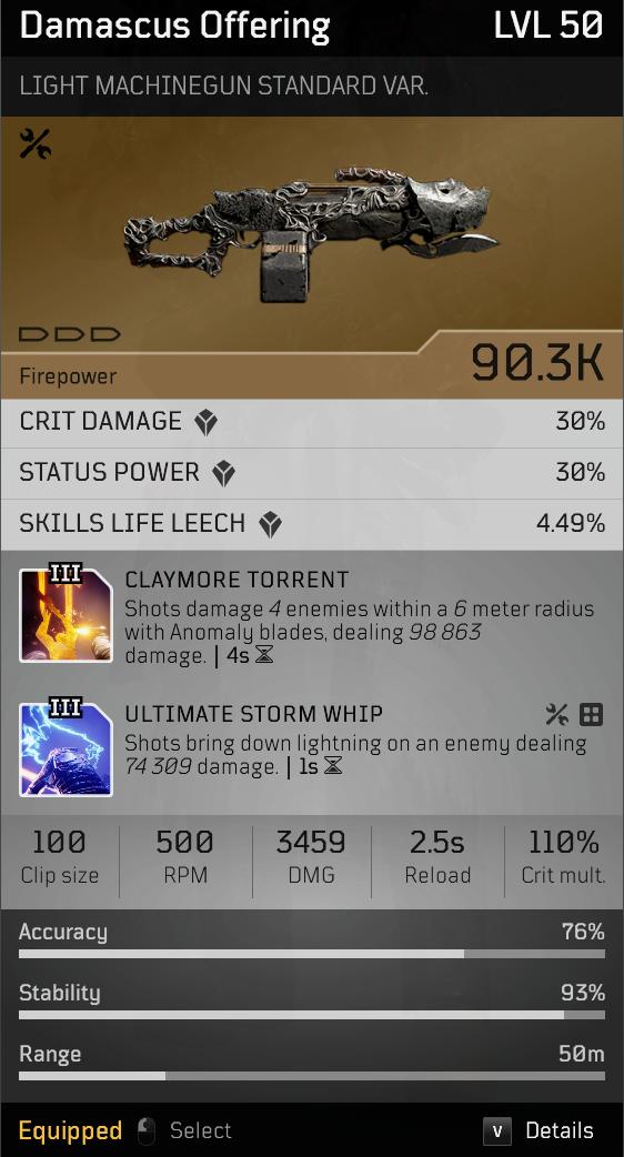 Acari Champion | Endgame Anomaly Pyromancer build image 38