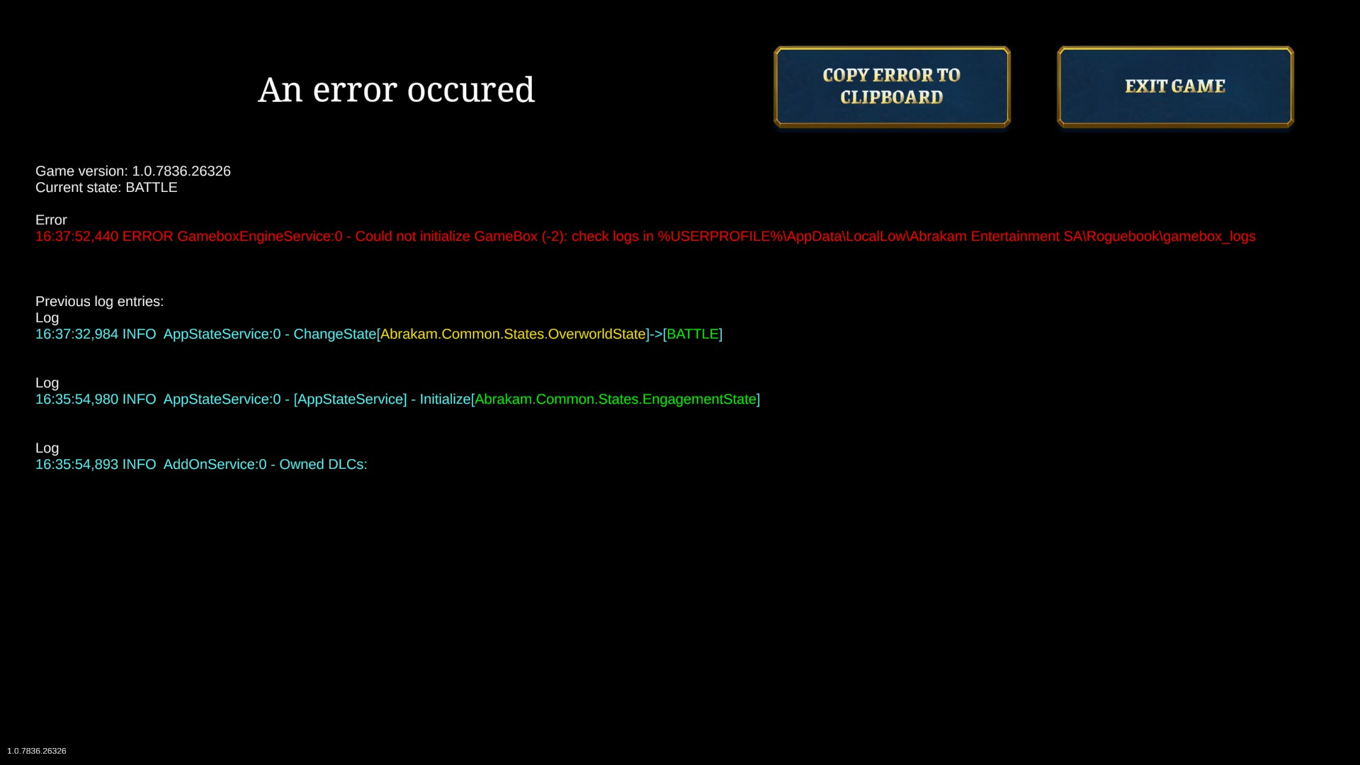 How to fix the GameboxEngineService ERROR image 2