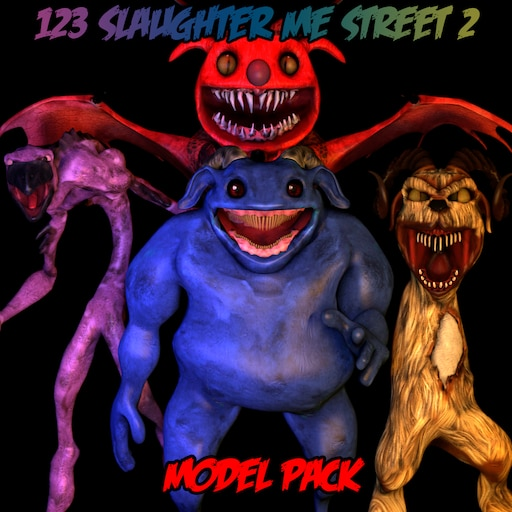 Steam Workshop::123 Slaughter Me Street 2 - Model Pack
