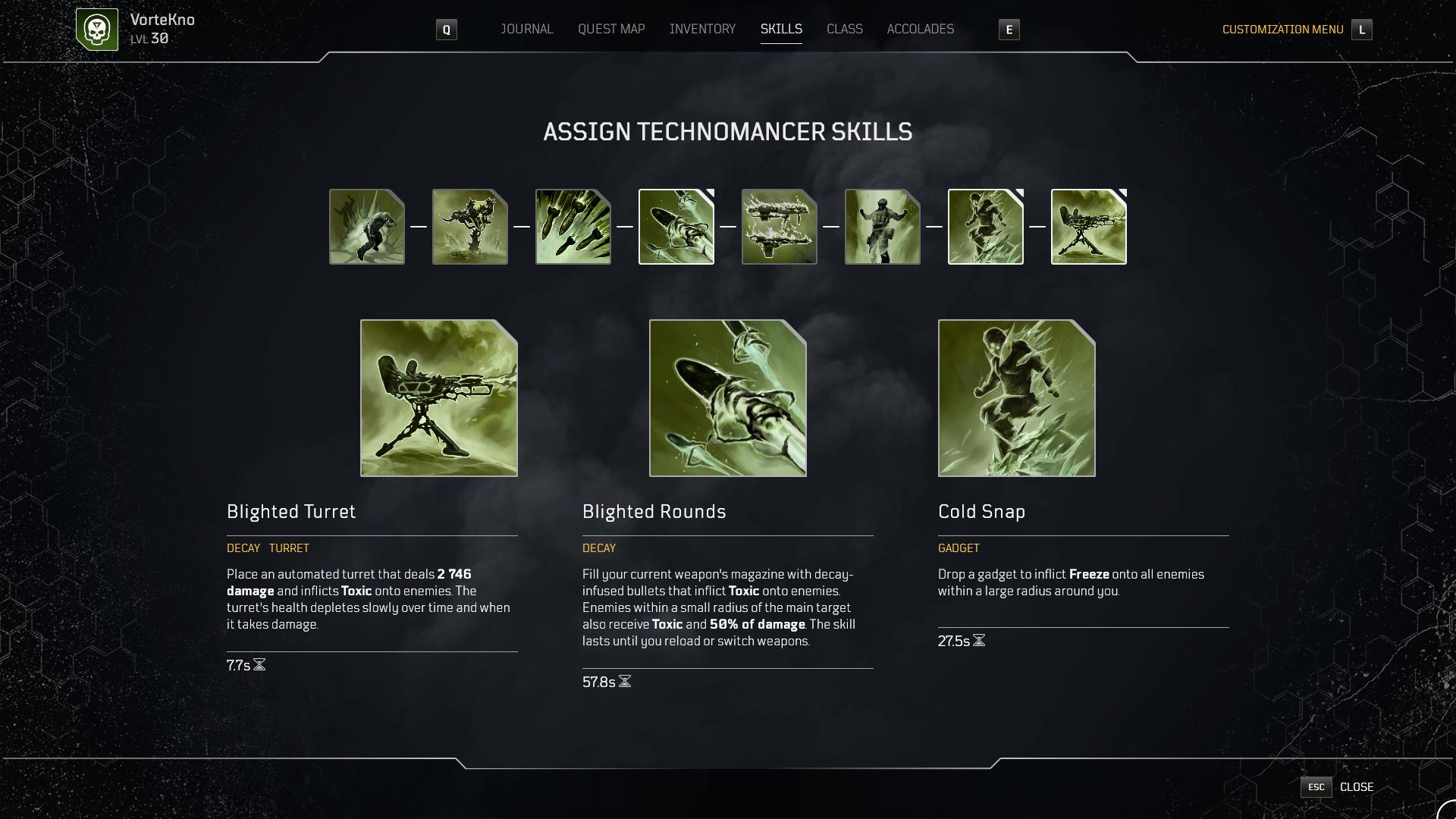 Build Technomancer Toxic/Bleed image 5