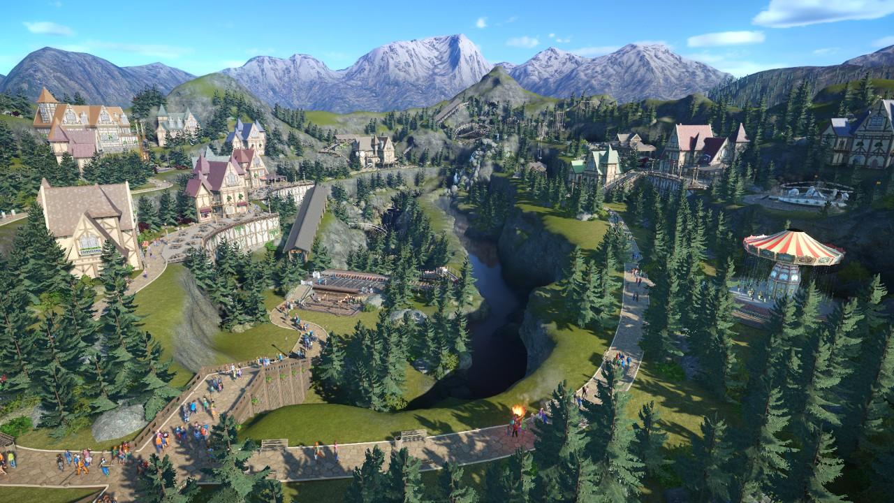 Zakman - Completed Alpine park!