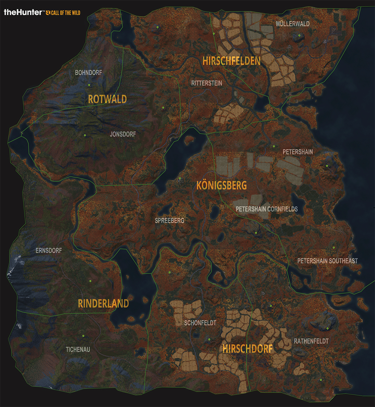 Steam Community Guide The Hunter Call of the Wild MAPS