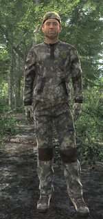 Camouflage gives an 'excellent' rating on visual coverage when in the right region and landtype. This will help greatly, especially in exploitation of their slightly weak eyesight.  Other coverage includes face paint, which adds an extra element of coverage.
