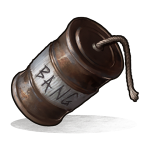 Расчёт взрывчатки на рейд в Rust