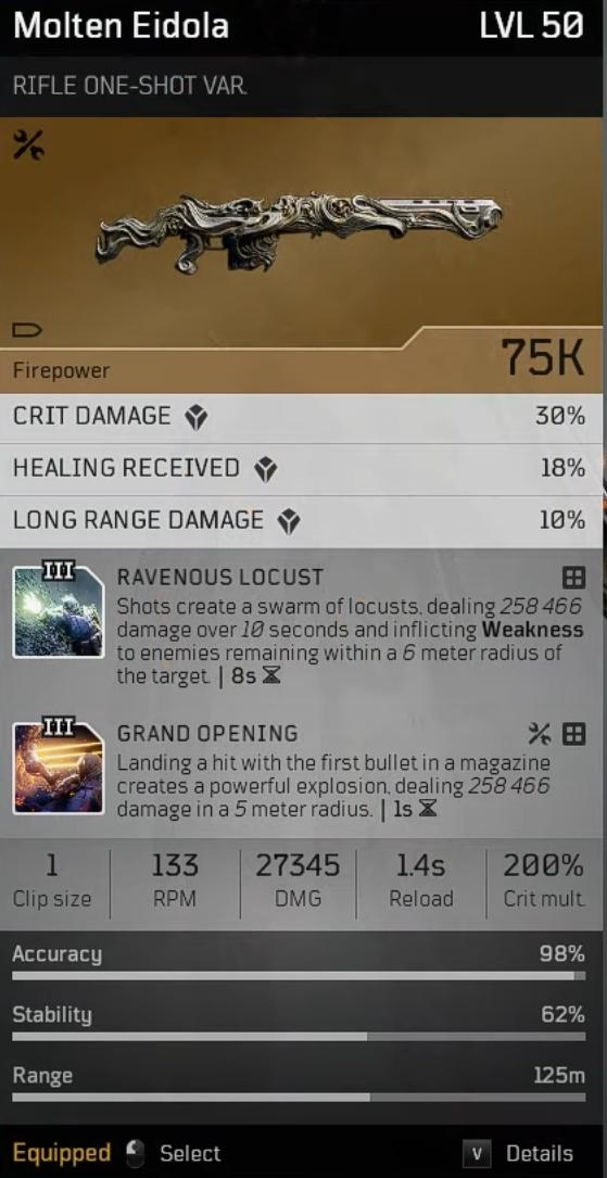 Acari Champion | Endgame Anomaly Pyromancer build image 37