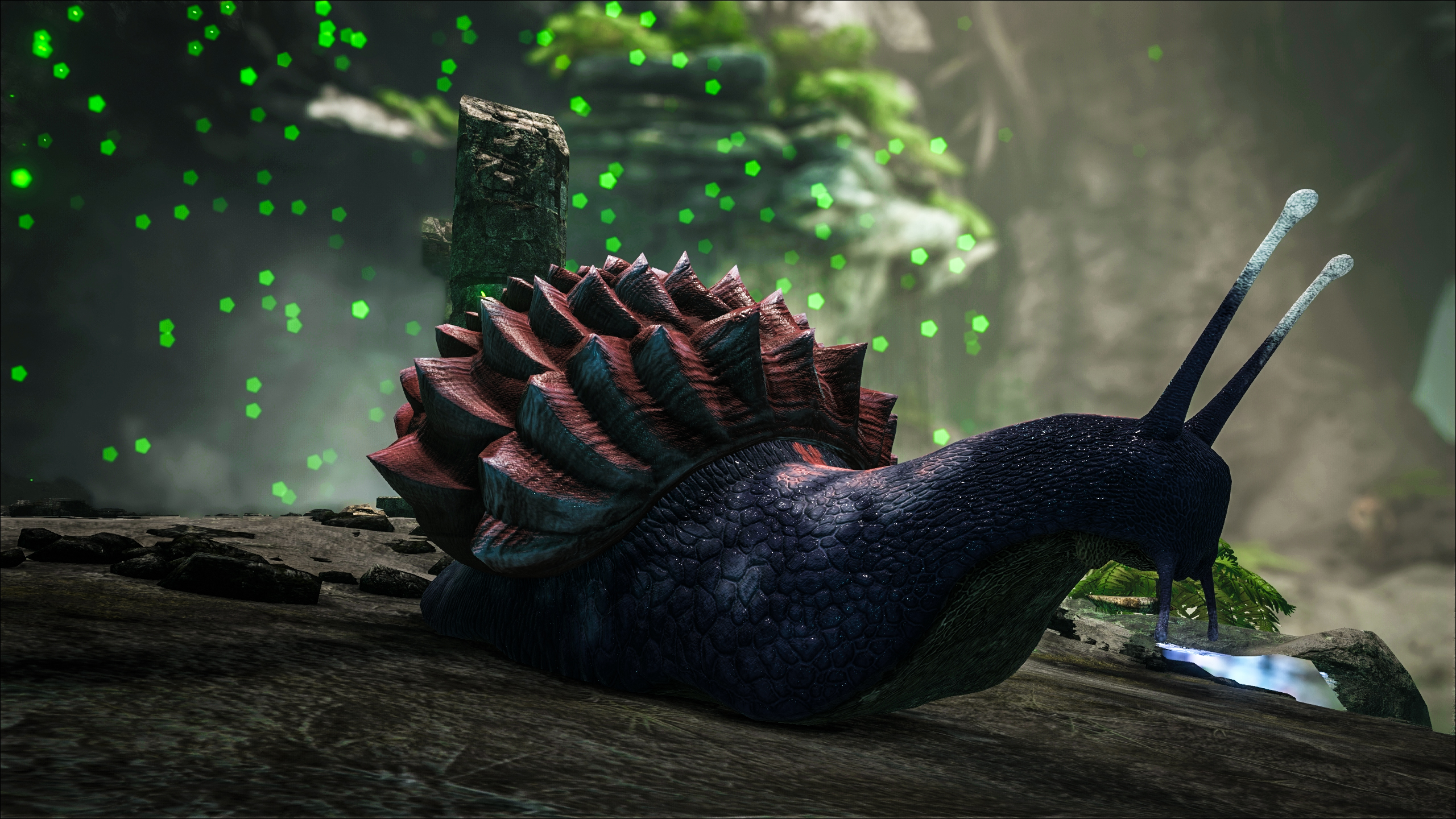 Superior Patch 252: Achatina, Megalosaurus, Moschops, Pachyrhinosaurus, New Caves  And More!