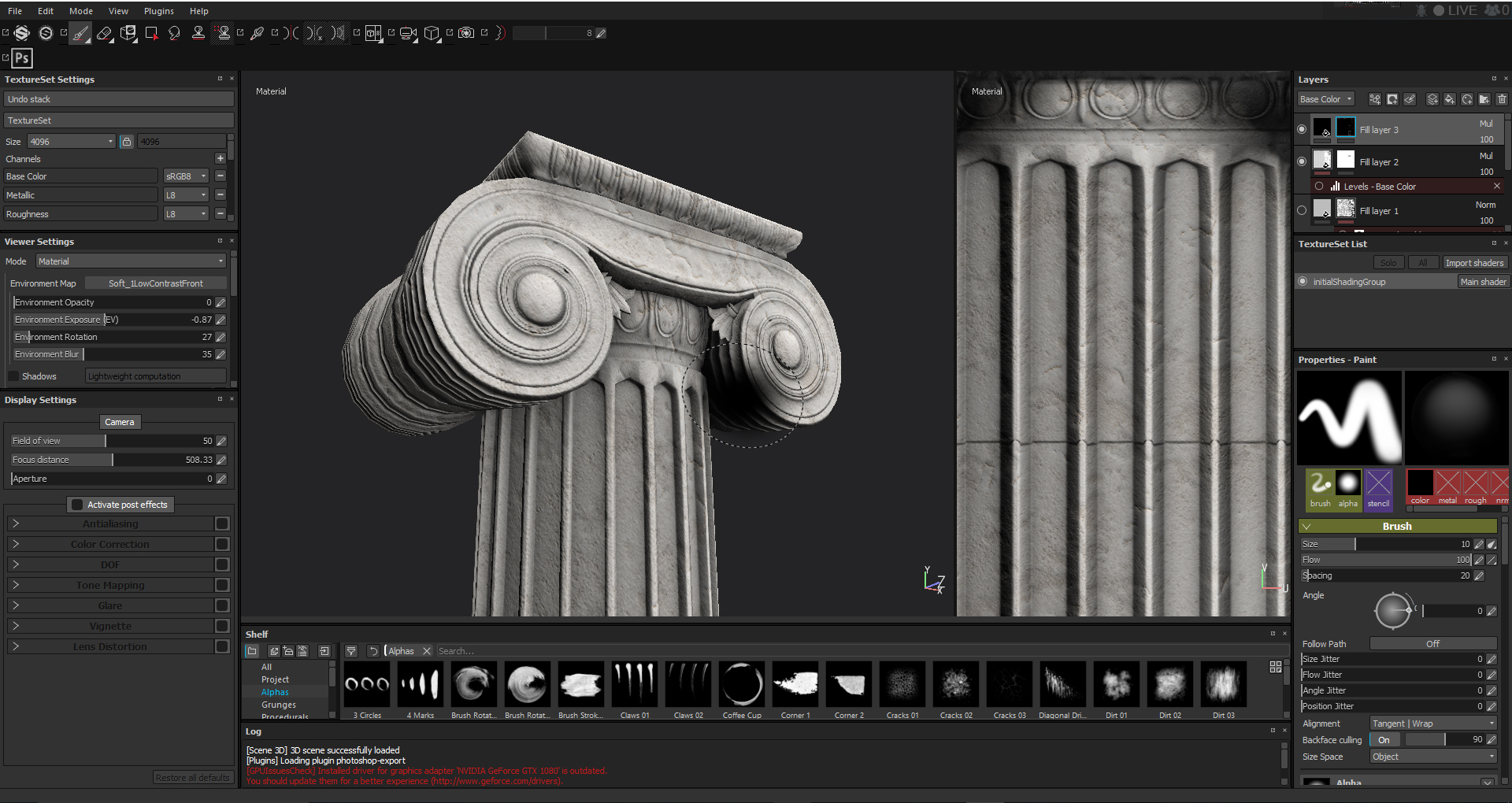 Steam Community :: :: Ionic Column - Substance Painter 2