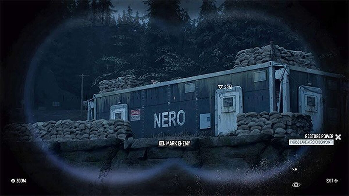 Как попасть внутрь блокпоста Неро (NERO) в Days Gone