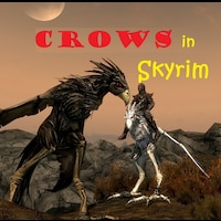 Crows in Skyrim画像