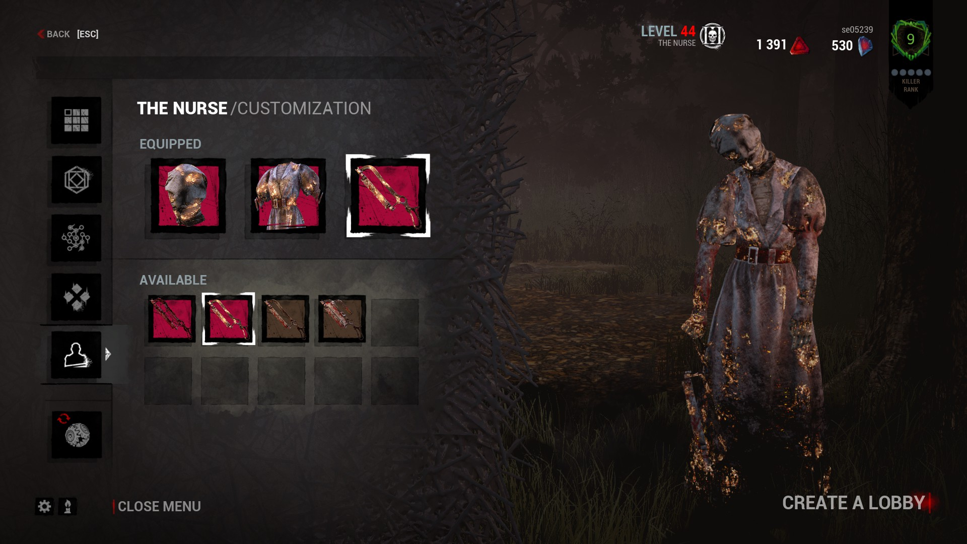 how to change perk colour dead by daylight