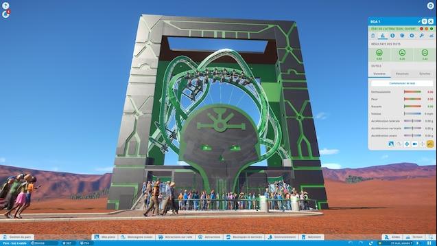 Steam Workshop :: Ride in a box II: The necron monolith