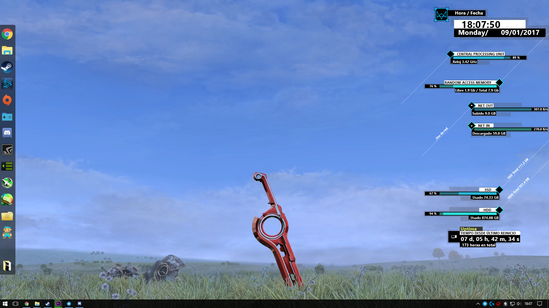 Steam Workshop 4k Xenoblade Chronicles