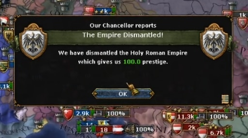 Steam Community :: Guide :: Dismantling HRE by 1600 Using League War
