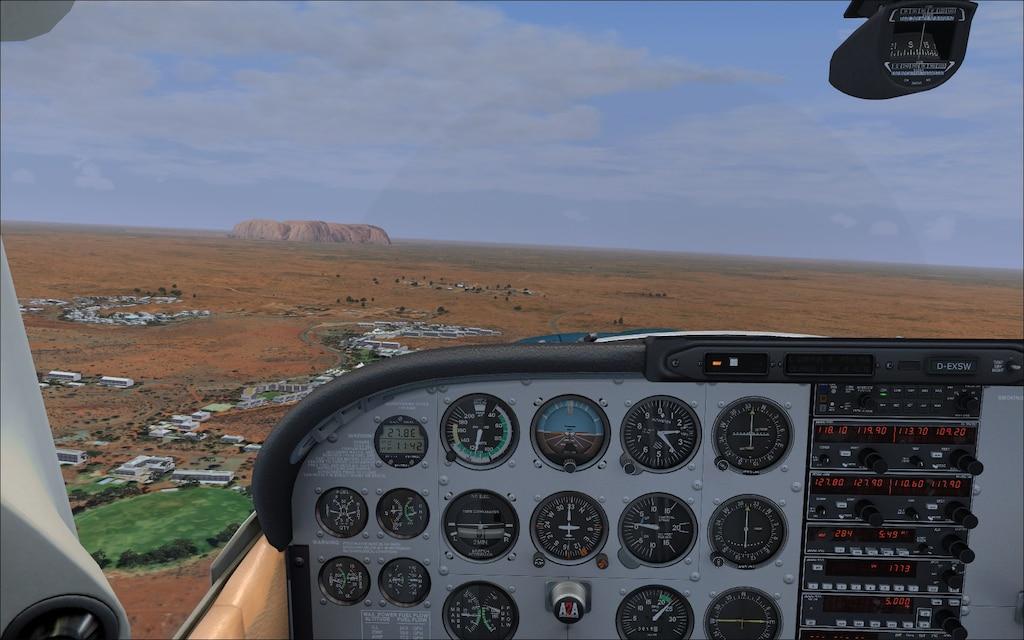 Steam Community :: Screenshot :: Flying from YAYE (Ayers Rock