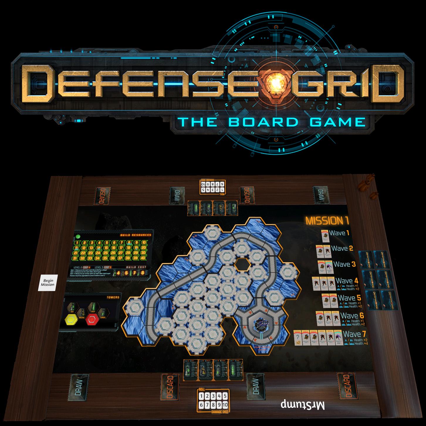 Steam Workshop Defense Grid The Board Game Mission 1