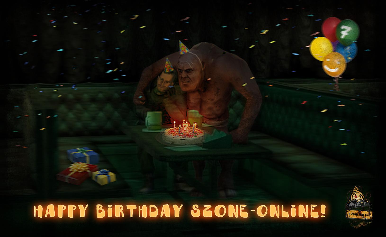 Днем, картинка с днем рождения сталкер