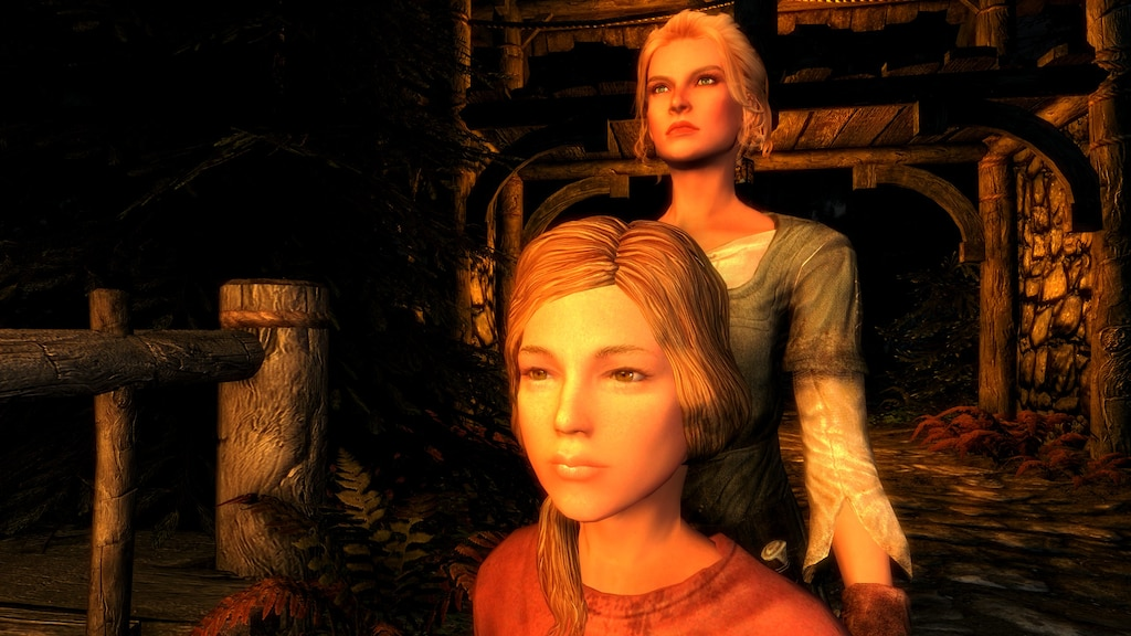 Steam Community :: Screenshot :: Mum and Daughter in Riften