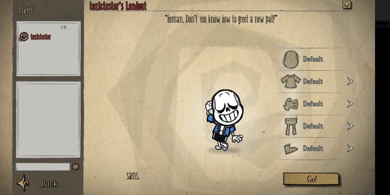 Steam Workshop :: sans the skeleton (New Sprite)