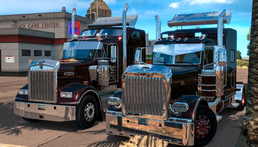 Steam Community :: Screenshot :: Kenworth W900 & Peterbilt 389