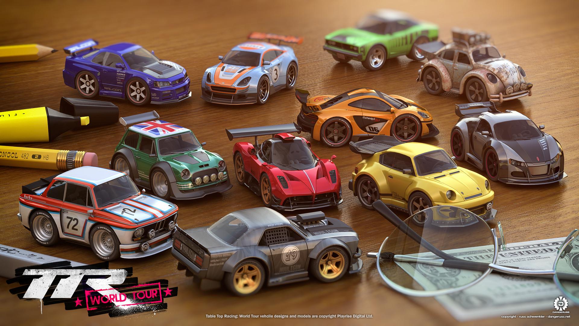 Risultati immagini per table top racing nitro edition