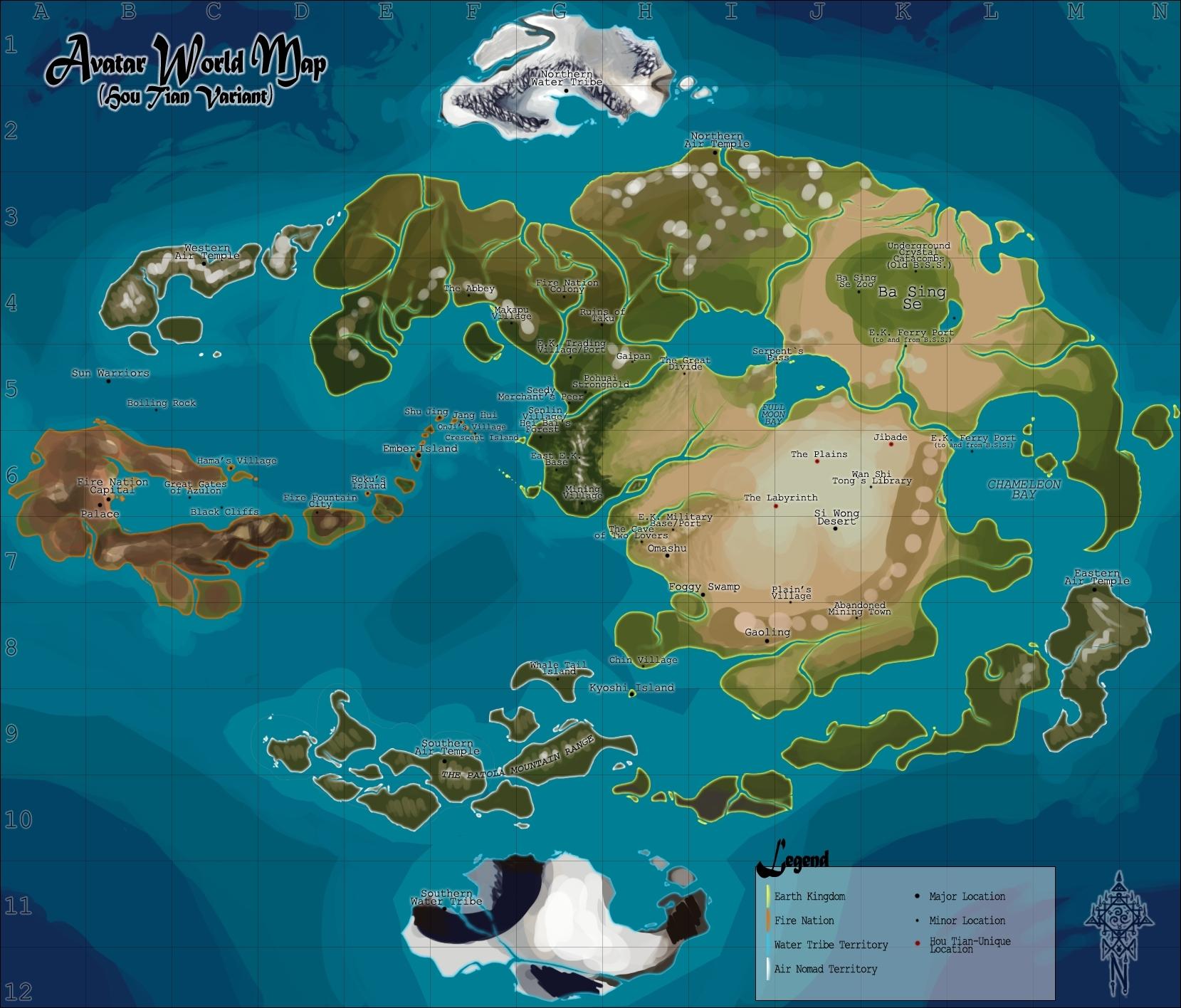 Steam Workshop :: Avatar World for Civ V