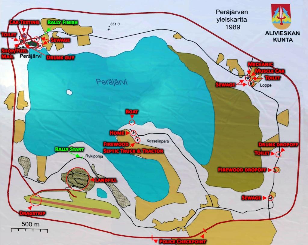 My Summer Car Mapa.Comunidade Steam Map