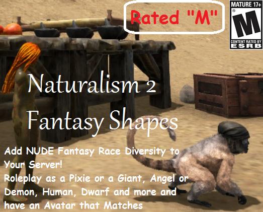 Naturalism 2 - Fantasy Shapes (M)