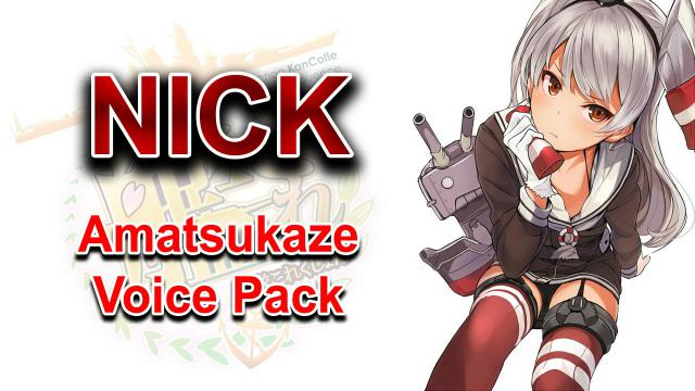 Steam Workshop :: Amatsukaze Voice Pack for Nick (Kantai