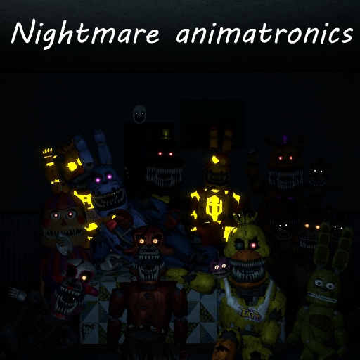 Fnaf 4 | Nightmare Animatronics | Part 1 | NPCs and Playermodels