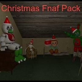 Steam Workshop :: Fnaf Christmas Pack