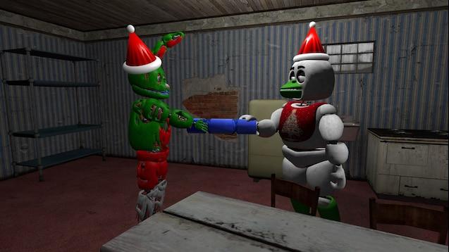 Fnaf Christmas.Steam Workshop Fnaf Christmas Pack