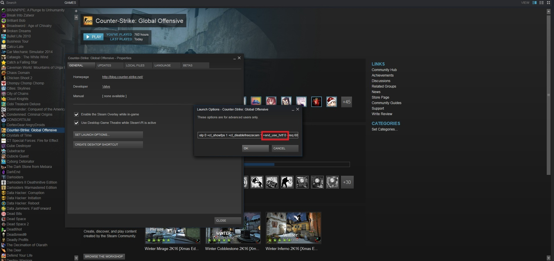 Steam Community :: Guide :: How to Fix FPS Drop in CSGO after HRTF