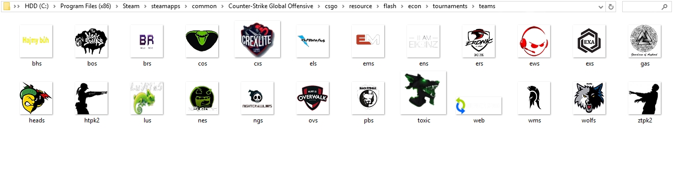 steam community guide how to setup team logos names
