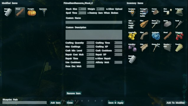 Steam workshop ark customizer settings evolved malvernweather Choice Image
