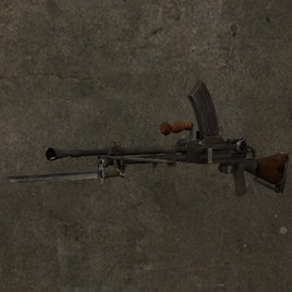 Steam Workshop :: World at War models: Type 99 Light Machine Gun PROP