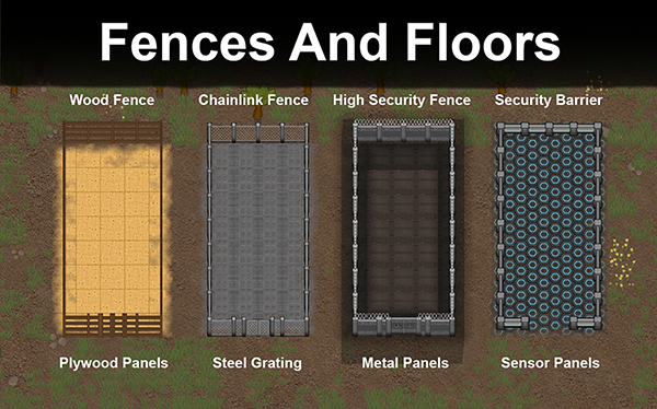Fences And Floors