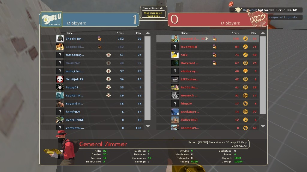 Steam Community :: Screenshot :: when you dominate half of the enemy team