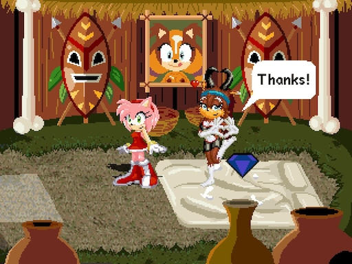 Sonic x love potion disaster