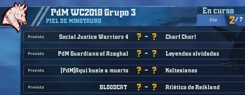 WC2018 - Grupo 3 / Jornada 2 - hasta el domingo 22 de abril 638EA7000A5274B66BEA1C151946FDCCE5B67111