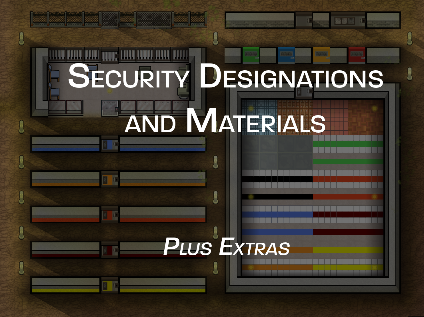 Security Designations and Materials