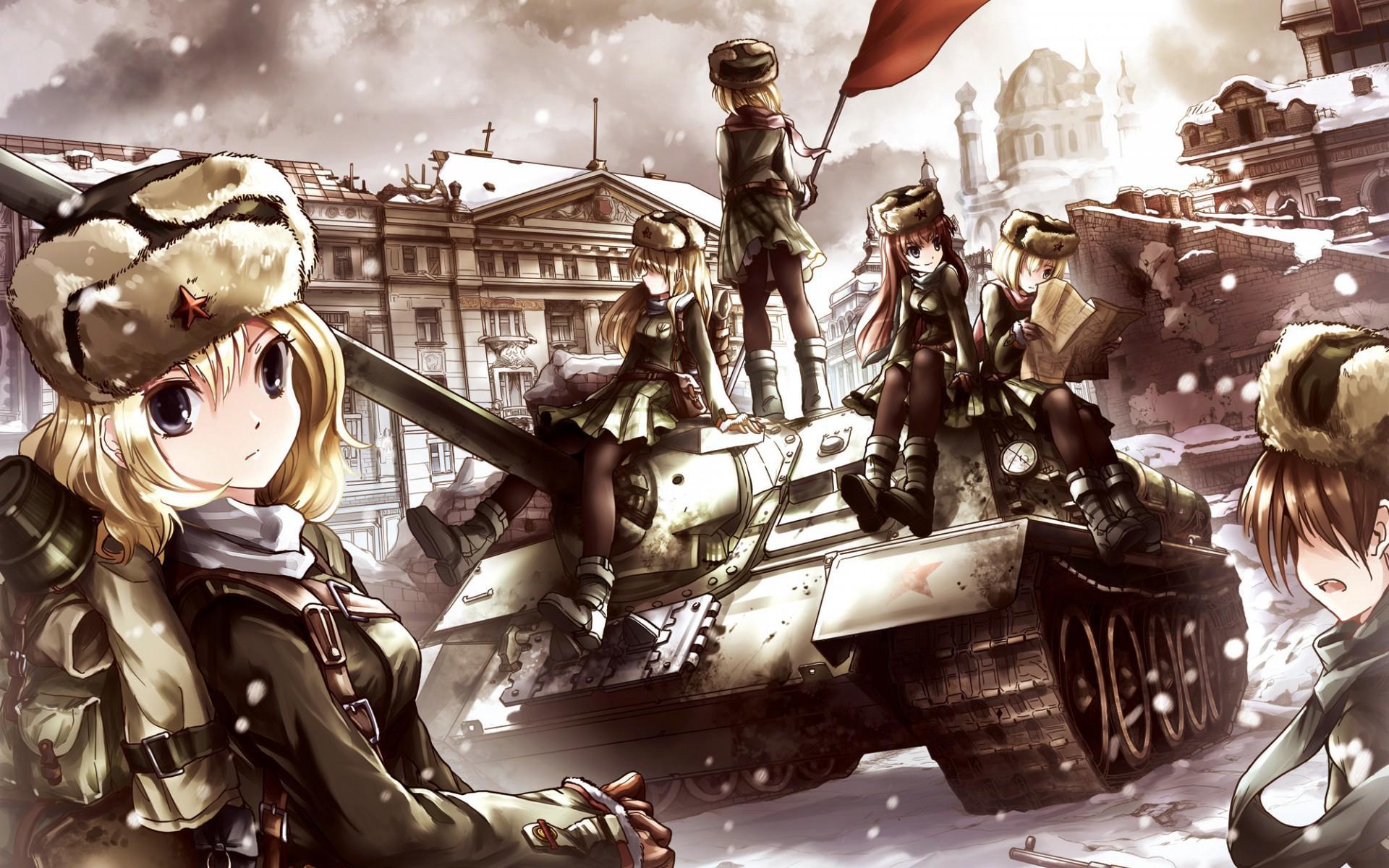 Steam Community :: :: USSR waifu-girl tankers
