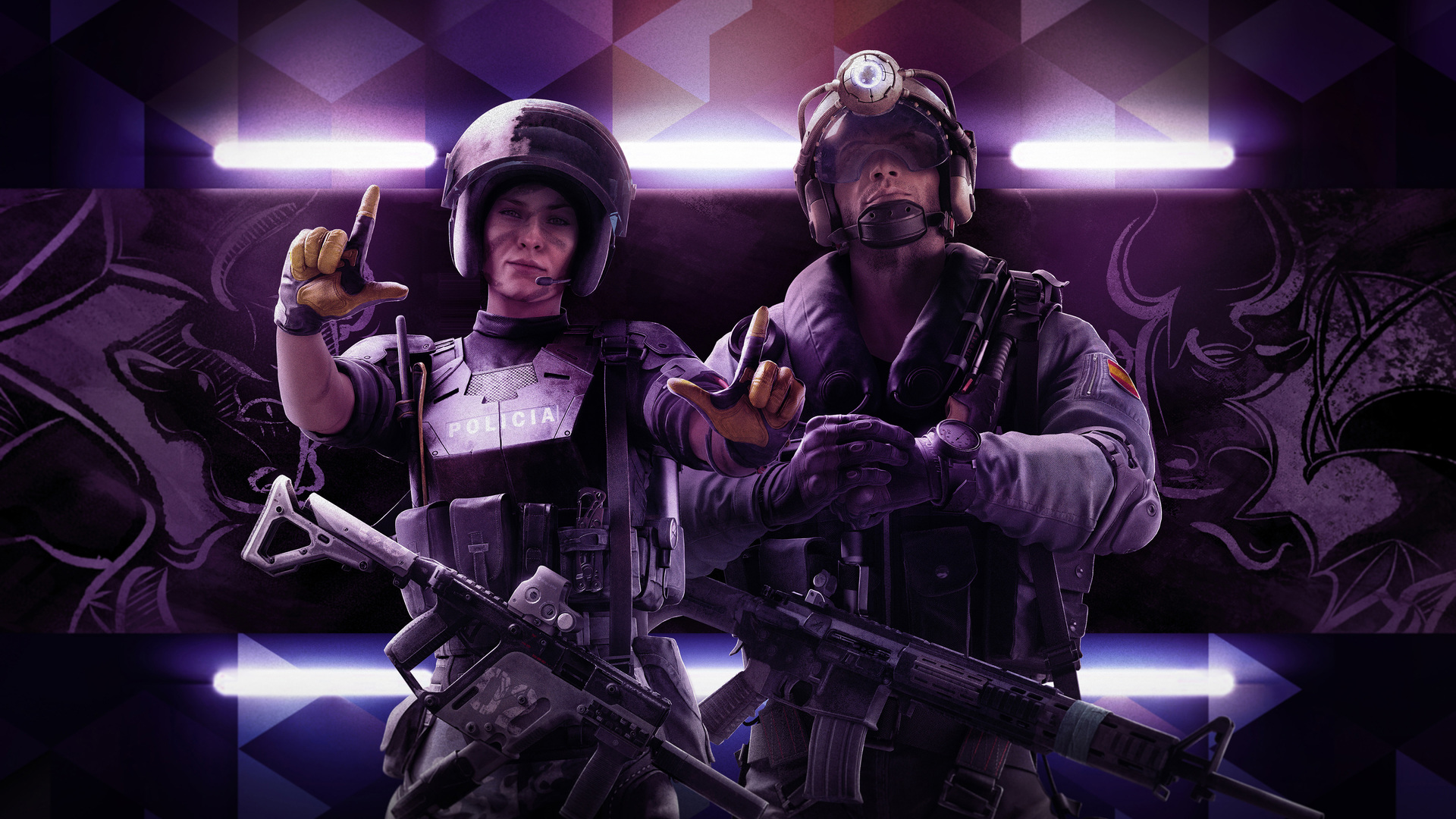 Steam Workshop Wallpaper Engine Rainbow Six Siege