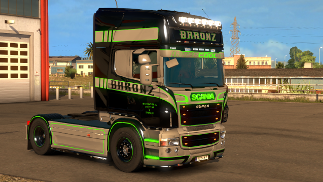 Baronz International shipping & Storage. Scania S and (rjl)R (paintable)