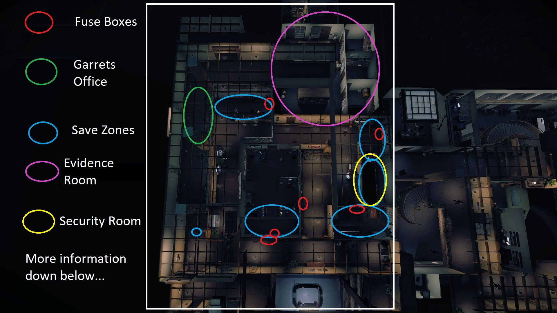 Steam Community Guide Breakin Feds In Depth Safe Fuse Box The Evidence Room Will Be On Opposite Side Of Map From What Garret Is I Think Also Classes As A Zone