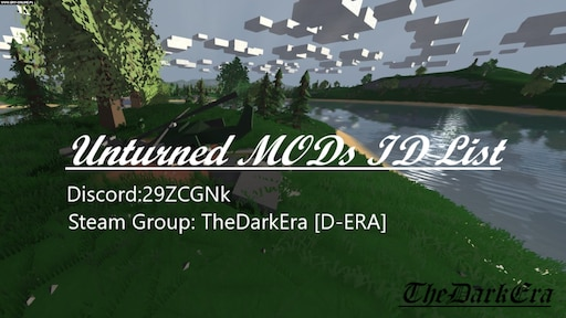 id list for unturned
