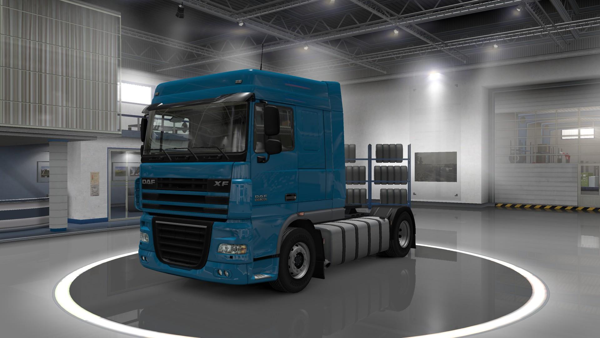симулятор вождения тягача с прицепом