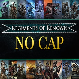 total war warhammer regiments of renown not showing up