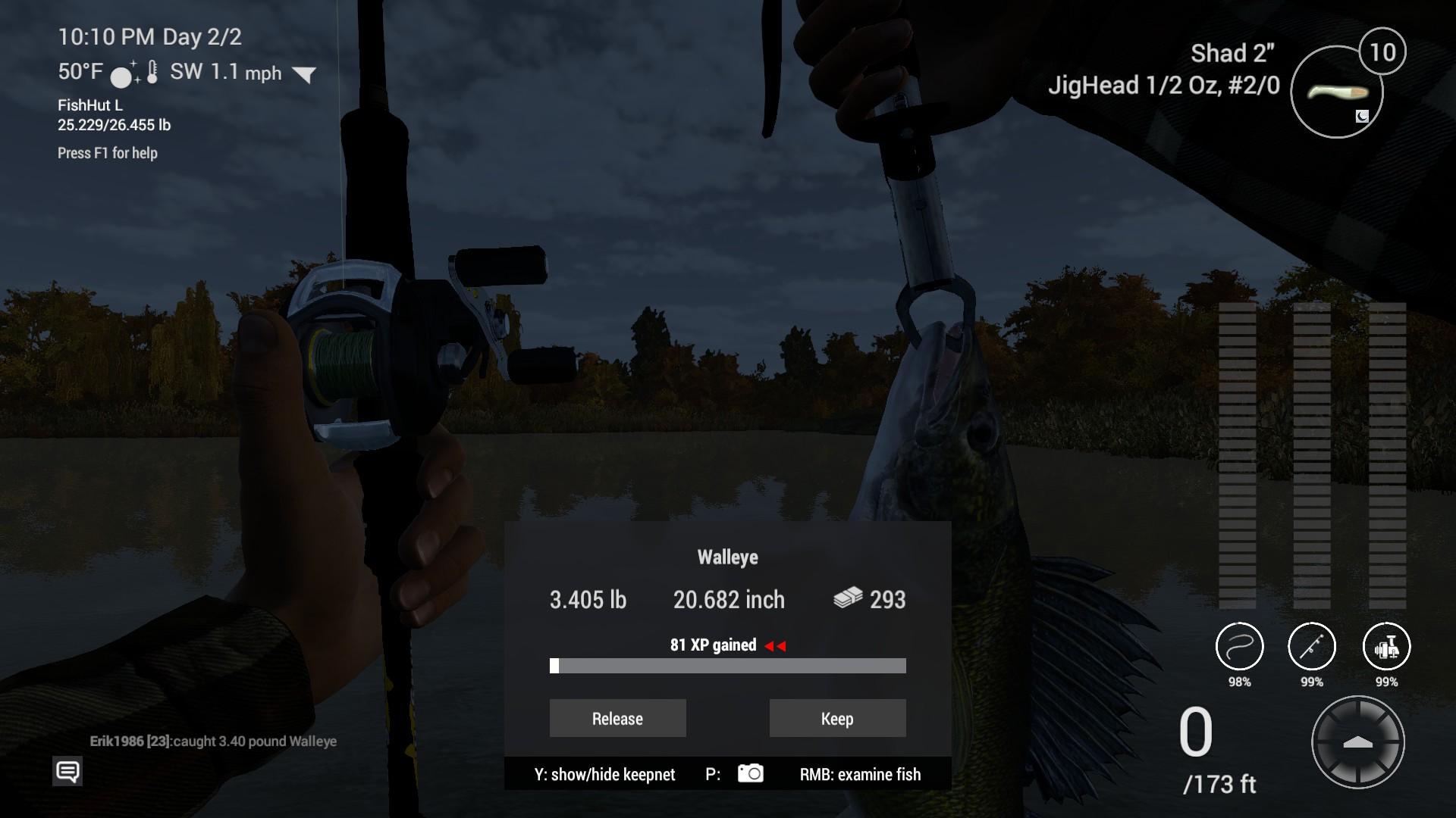 Steam Community :: Guide :: New York - Emerald Lake: Walleye